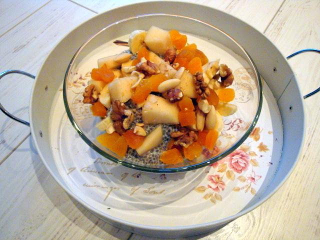 Pudding z nasion chia