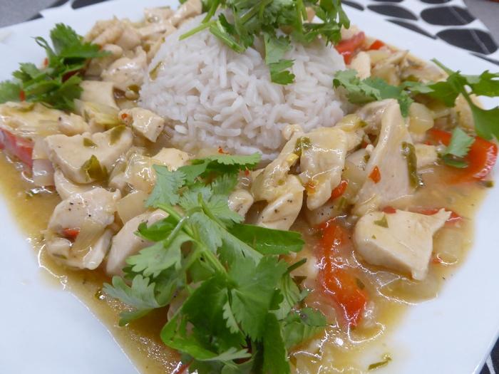Kurczak po Tajsku