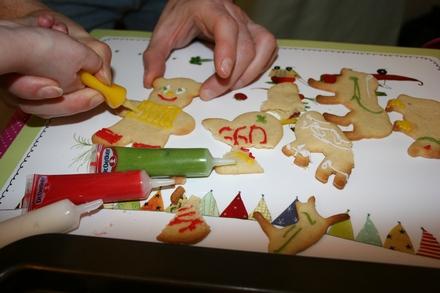 Ciasteczka maślane dekorowanie