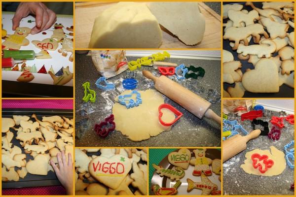 Ciasteczka maślane wykonanie