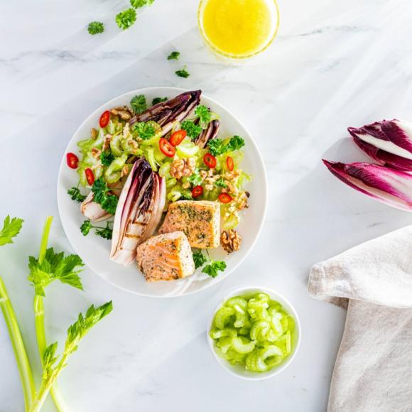 Sałatka zdrowe warzywa